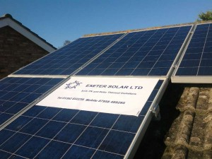 Solar products from Exeter Solar Ltd