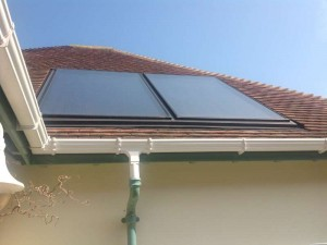'In roof' solar thermal